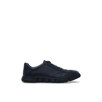 Navy Blue Men's Shoes 227105 Click to enlarge