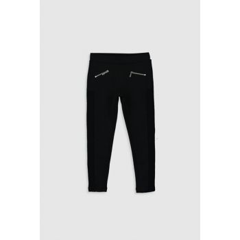 Girl's NEW BLACK CVL Leggings Pants 0S2550Z4
