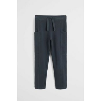 Black Girl Trousers with Pockets 57097691