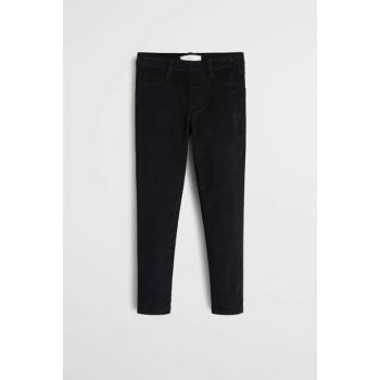 Black Girls Narrow Trousers, Velvet Pants 53085725