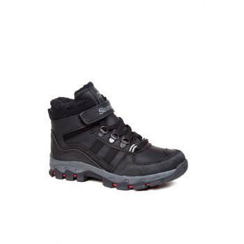 Used Black Kid Boot & Bootie - ALP - SA27OF004-500