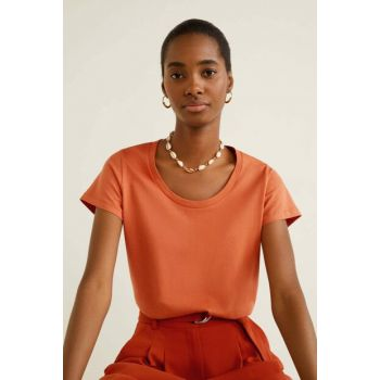 Women's Orange Organic Cotton T-Shirt 53050722