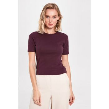Women's Dark Purple T-shirt 0S2138Z8