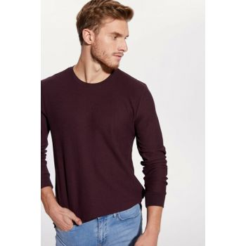 Men's Dark Burgundy T-Shirt 9W9752Z8