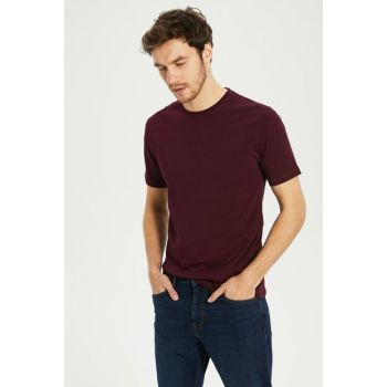 Men's Dark Burgundy T-shirt 0S1780Z8