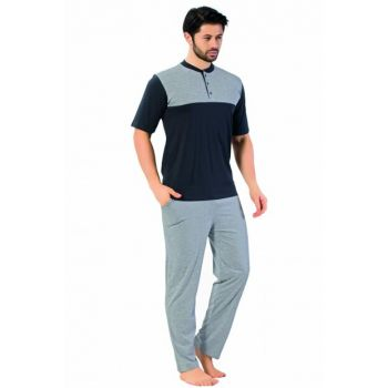 Men's Gray Pajama Set 6605
