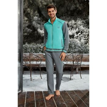 Men's Gray Jacket & Pants Suit 4719