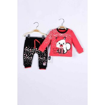 Baby Girl Sweatshirt Trousers Set of 2 14784 MINI14784