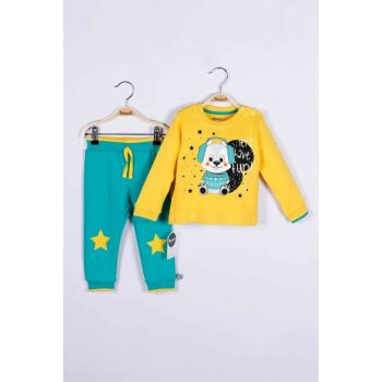 Baby Boy Sweatshirt Trousers Set of 2 14761 MINI14761