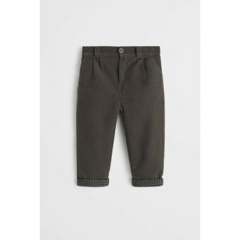 Dull Green Baby Boy Pants 57076708