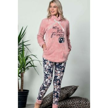 Women's Pink Wersoft Pajama Set 4366
