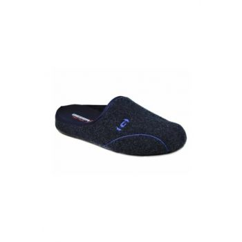 11118 Men's Home Dowry Slippers Navy Blue 1964