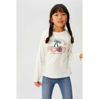 Off White Girl Kids Double Sided Cherry Sequin T-Shirt 57035918