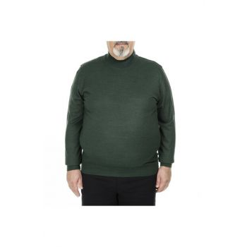 Plus Size Turtleneck Pullover MEN SWEATER 518DUZYBB
