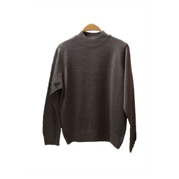 Plus Size Half Turtleneck Pullover COR0408