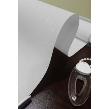 Blackout Light Proof Roller Blinds White st-krb-1000