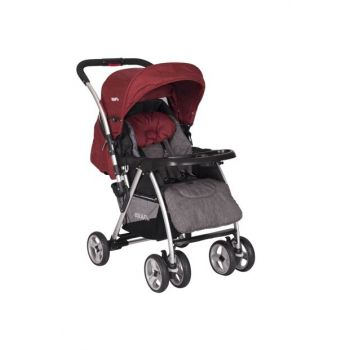 Back Bidirectional Baby Stroller Red / B SH286 R