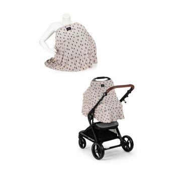 EleleLife Functional Pushchair and Breastfeeding Cover Monteri EL19MELLFEMZORTTR6