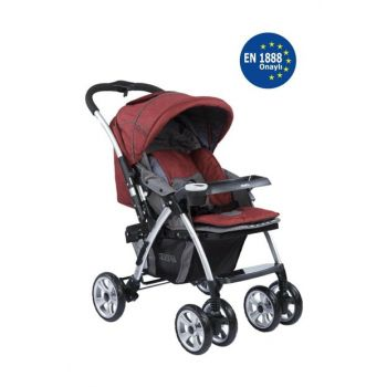 Evo Plus Two Way Baby Stroller Red / IB36877