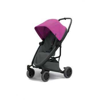 Quinny Zapp Flex Plus Baby Carriage Pink On Graphite / IB25974