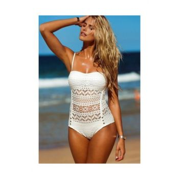 White Super Design Stylish Mayokini T1670
