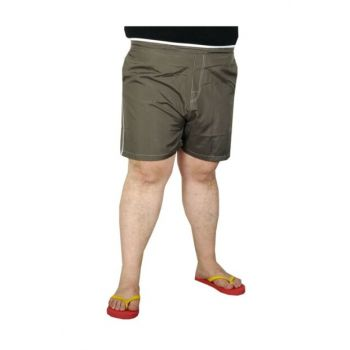 Plus Size Men's Beach Shorts 19570 Khaki