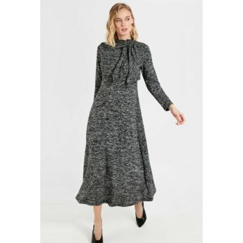 Women's Anthracite Melange Dress 9WO575Z8