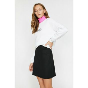 Women's Black Skirt 0KAK76706IK