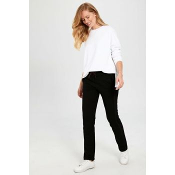Women's Black Trousers 0S4828Z8