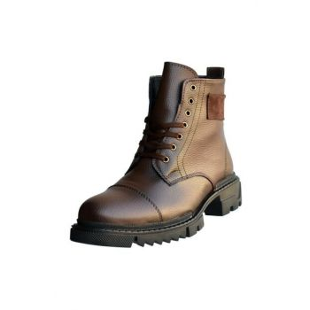Men's Zipper Winter Boots MPP.TANK.400-TY