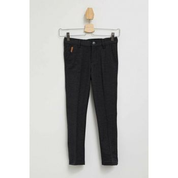 Navy Blue Boy Slim Fit Woven Trousers K9174A6.19AU.NV64