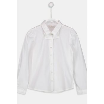 Girls' OPTICAL WHITE E5X Shirt 8W1070Z4