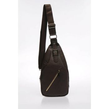 Brown Unisex Body Bag Backpack Mp9075 MP9075