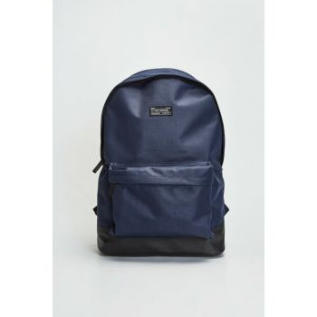 Men's Dark Navy Blue Backpack 9WH035Z8