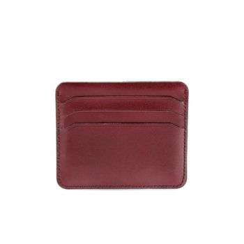 Genuine Leather Burgundy Men's Wallet 06CUH132880A780