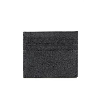 Genuine Leather Black Men Wallet 06CUH131270A100