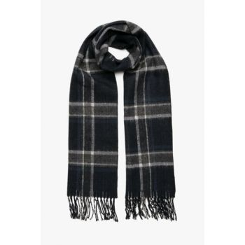 Men's Navy Blue Scarf 8KAM50114OA