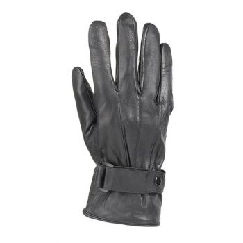 Men's Leather Gloves K304 Black TAKL19FWELD027