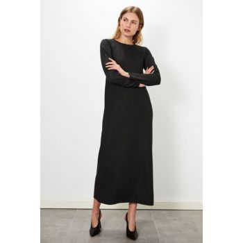 Women's Anthracite Melange Dress 9WL587Z8