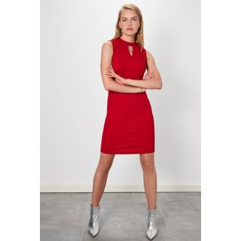 Women's Red Dress 9WL819Z8