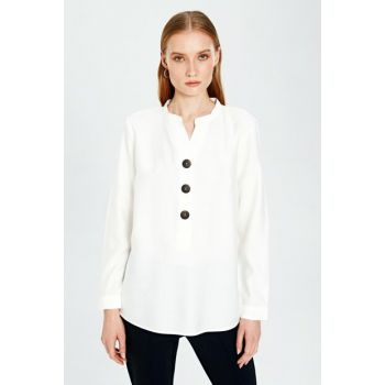 Women Cream Blouse 9WO214Z8
