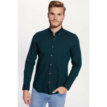 Men's Emerald Green Shirt 9W3240Z8