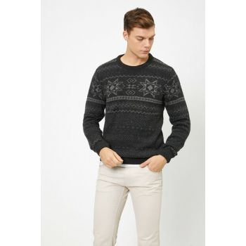 Men's Anthracite Sweater 0KAM91848DT