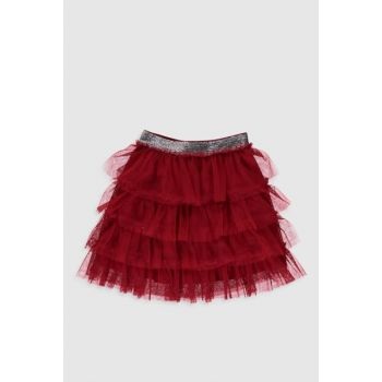 Girl's Red Hpm Skirt 0SG530Z4