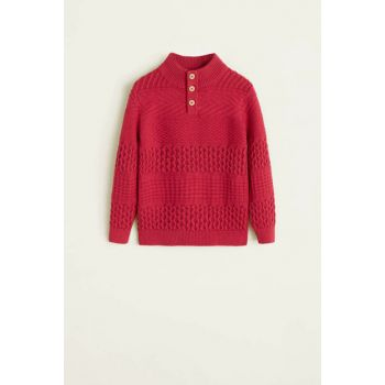 Girls Red Sweater 33099041