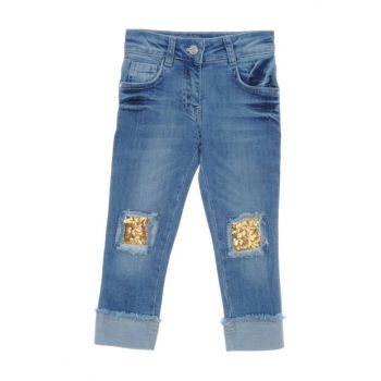 Girls' Denim Trousers 18221056100