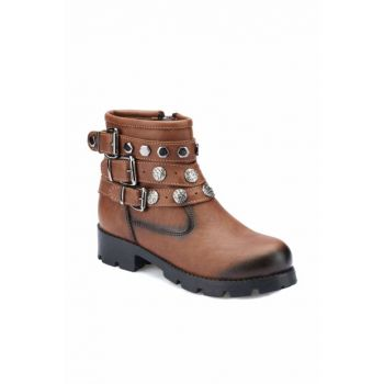 Brown Girls' Boots 000000000100331243