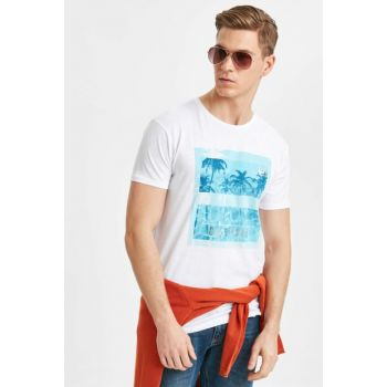 Men's Optical White T-shirt 9S9031Z8