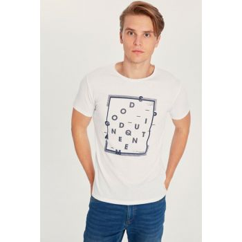 Men's White T-shirt 9WR199Z8