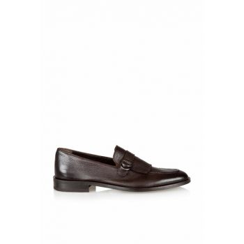 Genuine Leather Coffee Men Shoes 02AYH120080A480